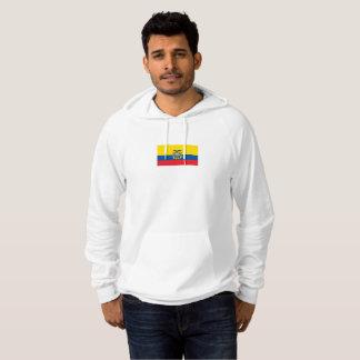 Mens Flag of Ecuador Hoodie