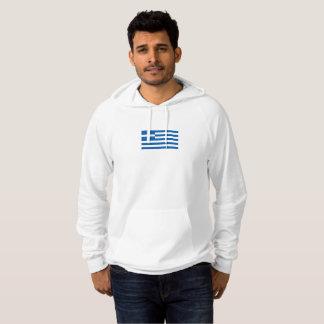 Mens Flag of Greece Hoodie