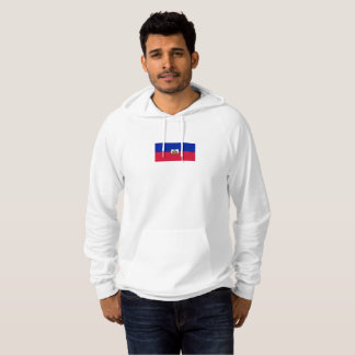 Mens Flag of Haiti Pullover Hoodie