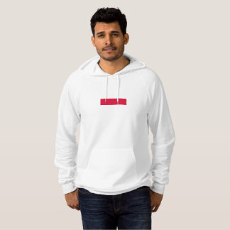 Mens Flag of Poland Hoodie