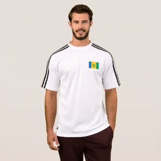Mens Flag of Saint Vincent T-Shirt