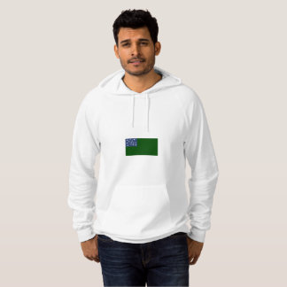 Mens Flag of Second Vermont Hoodie