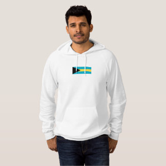 Mens Flag of the Bahamas Hoodie