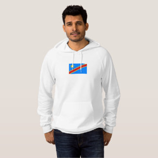Mens Flag of the DR Congo Hoodie