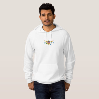 Mens Flag of the US Virgin Islands Hoodie
