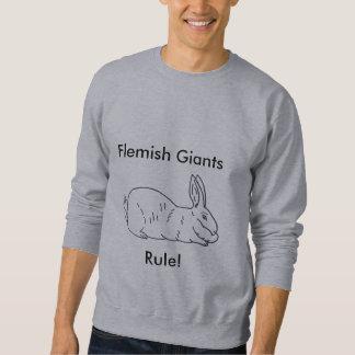 Men's Flemish Giant Rabbit Sweatshirt