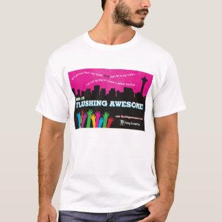 Men's Flushing Awesome T-Shirt White