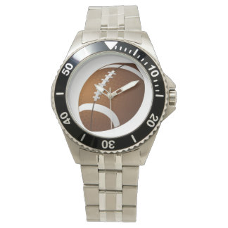 Mens Football sport custom watches