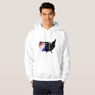 Men's Fourth of July Hooded Sweat Shirt