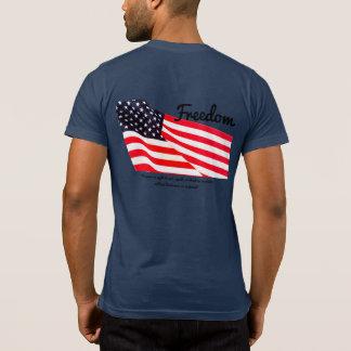 Men's Freedom Flag Pocket T-Shirt