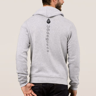 Men's full zip up hoddie hoodie