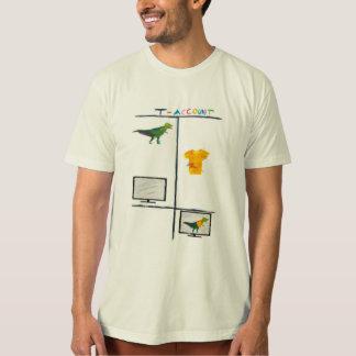 Men's Funny Accountant Shirt T-Rex T-Account