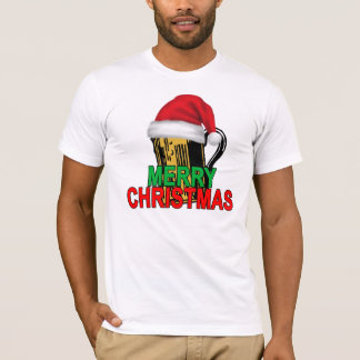 Mens Funny Beery Christmas Beer T Shirt ..png