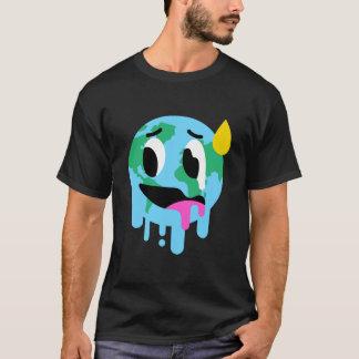 Men's Funny Global Warming Hoax T-Shirt (Black)