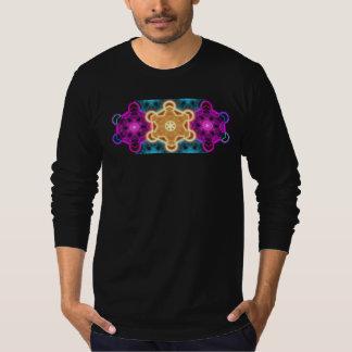 mens galactic merkabah long sleeve shirt