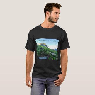 Men's Glacier Mountain Meadows Black T-Shirt