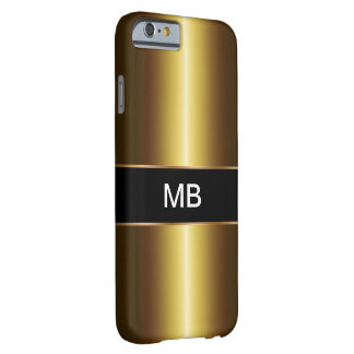 Men's Gold Business Barely There iPhone 6 Case