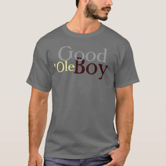 Men's Gray Good 'Ole Boy T-Shirt