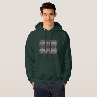 Men's Green Sweatshirt Holly Berry 805 Design