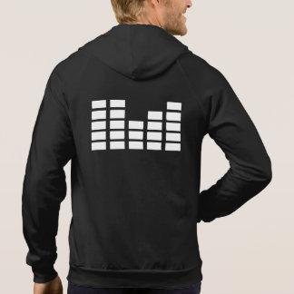 Mens Headphones Dj Deejay house music edm hoodie