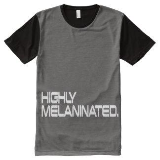 Men's HIGHLY MELANINATED Shirt All-Over Print T-Shirt