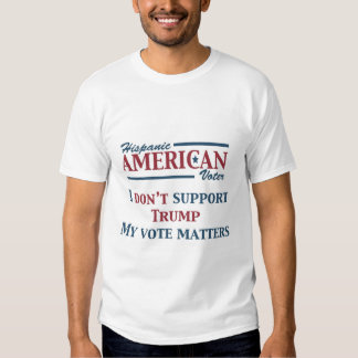 Men's Hispanic American Voter T-Shirt