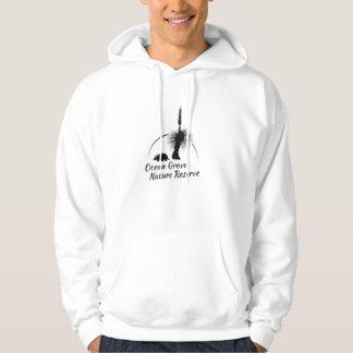 Men's Hooded Jumper OGNR Logo Black Hooded Pullovers