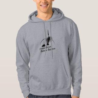 Men's Hooded Jumper OGNR Logo Black Hoodie