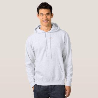Men's hooded sweatshirt w/ Hand craft logo