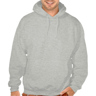 Men's Hooded Sweatshirt with Dachshund Logo