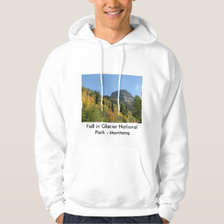 Men's Hoodie Fall in Glacier National Park