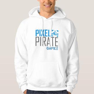 Men's Hoodie Sweatshirt - Pixel Pirate Games