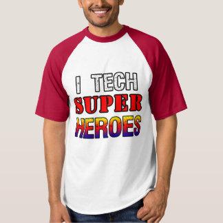Men's I Tech Super Heroes T-Shirt T-Shirt