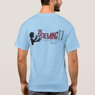 "men's ""i write creepy poems"" shirt"