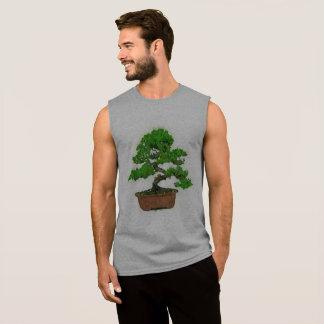 Men's Japanese Bonsai Tree Sleeveless T-shirt