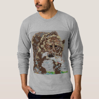 Men's Jersey Long Sleeve T-Shirt Grizzly Bear
