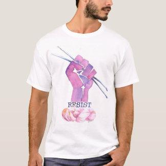 Men's knitting power t-shirt