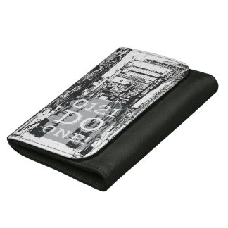 Mens leather wallet, 0121 Do One, B'ham Leather Wallet