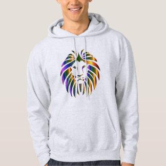 """Men's """"lion face"""" hoodie. hoody"""