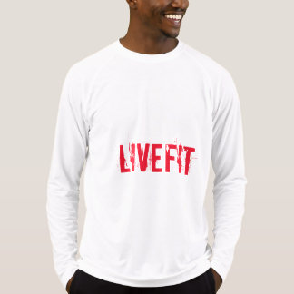 """Men's """"LIVEFIT"""" Fitted Long Sleeved Training Shirt"""