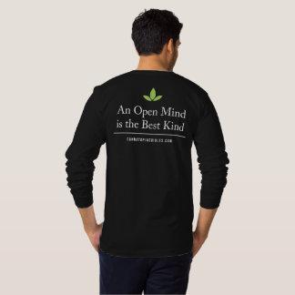 Men's Long Sleeve Cannatopia Open Mind Back Tee