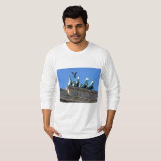 Men's Long-Sleeve Shirt Featuring Brandenburg Gate