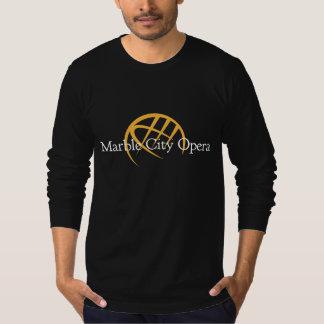 Men's long sleeve t-shirt: Marble City Opera logo Shirts