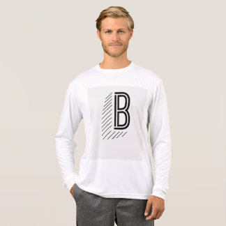 Men's Long Sleeve with Big B T-Shirt