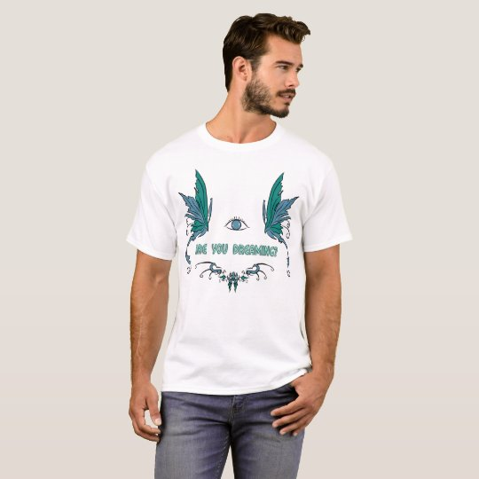 Men's lucid dreaming T shirt. T-Shirt