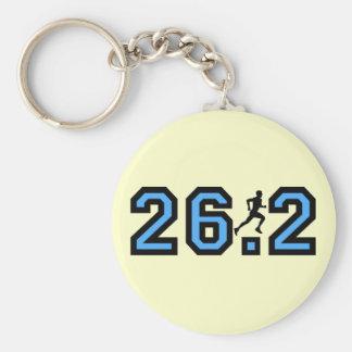 Mens marathon keychains