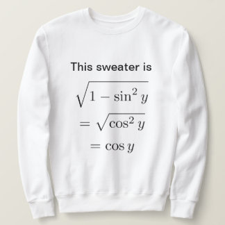 Men's Math Pun Sweatshirt