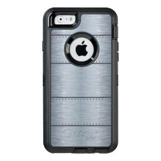 Mens Modern Metallic OtterBox Defender iPhone Case