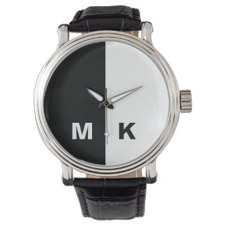 Men's Modern Monogram Watch