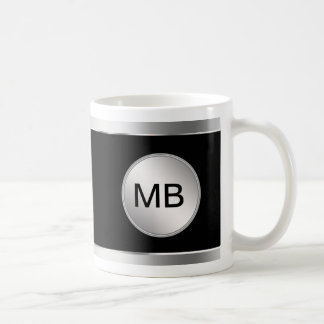 Men's Monogram Coffee Mugs